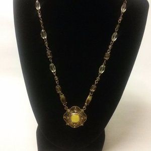 2028 Vintage Style Cooper Tone Necklace